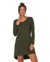 Animal Casual Dress - Green