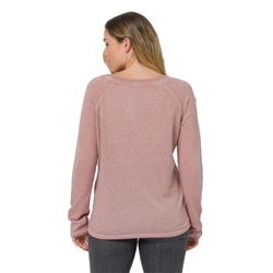 Animal Simple Sweatshirt - Pink