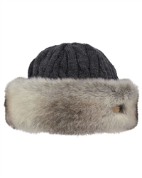 Barts Faux Fur Cable Bandhat - Faux Rabbit