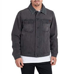 Billabong Barlow Trucker Jacket - Black