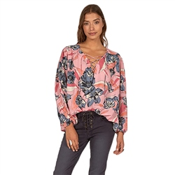 Billabong Never Wake Top - Faded Rose