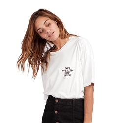 Billabong Long Way T-Shirt - Cool White