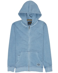 Billabong Wave Washed Hoody - Blue