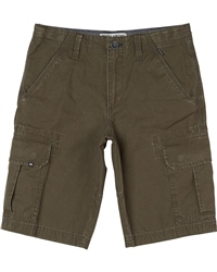 Billabong Scheme Walkshorts - Dark Olive
