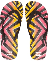 Billabong Tides Surf Flip Flops - Multi