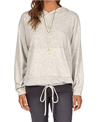 Billabong Burning Bridge Sweatshirt - Athletic Grey