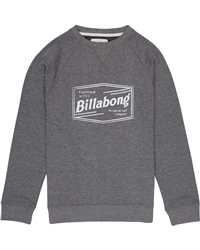 Billabong Labrea Sweatshirt - Dark Grey Heather