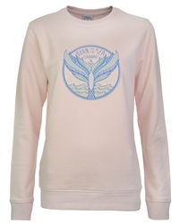 Born by the Sea Womens Sweatshirt - Pink