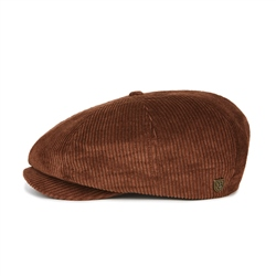 Brixton Brood Snap Cap - Brown