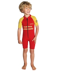 C-Skins C-Kid Baby 3/2mm Shorty Wetsuit - Red (2018)