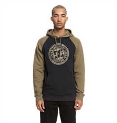 DC Shoes Circle Star Hoody - Burnt Olive & Black