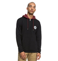 DC Shoes Rebel 1/2 Hoody - Black