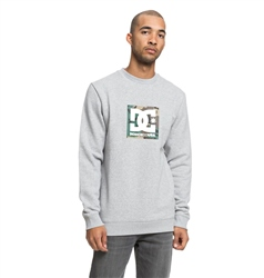 DC Shoes Camo Boxing Sweatshirt - Grey Heather
