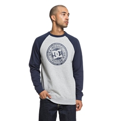 DC Shoes Circle Star Sweatshirt - Black Iris