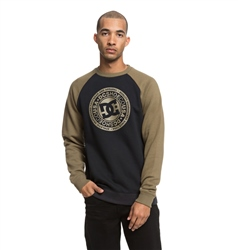 DC Shoes Circle Star Sweatshirt - Olive