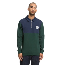 DC Shoes Dellwood Sweatshirt - Pine Grove