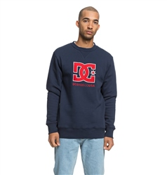 DC Shoes Glenridge Crew Sweatshirt - Black Iris