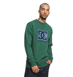 DC Shoes Glenridge Crew Sweatshirt - Hunter Green