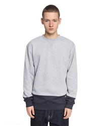DC Shoes Rebel Lo Sweatshirt - Grey