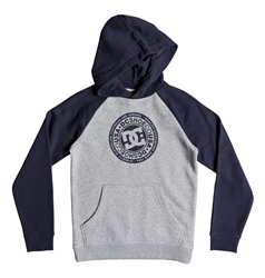 DC Shoes Circle Star Hoody - Iris & Grey