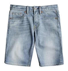 DC Shoes Worker Walkshorts - Light Indigo