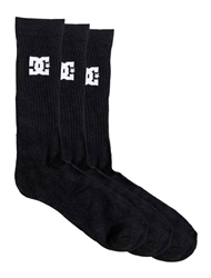 DC Shoes SPP 3 Pack Socks - Black