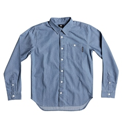 DC Shoes Swalen Shirt - Light Blue
