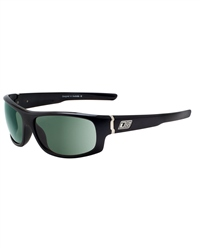 Dirty Dog Bat Sunglasses - Black & Green