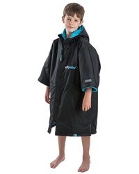 Dryrobe Short Sleeved DryRobe Extra Small  - Black & Blue