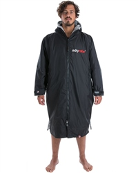 Dryrobe Long Sleeved DryRobe Medium  - Black & Grey