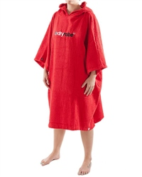 Dryrobe Large Short Sleeved Towel  - Red