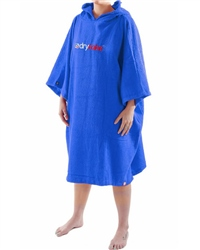 Dryrobe Medium Short Sleeved Towel  - Royal Blue