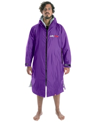 Dryrobe Small Long Sleeved  - Purple & Grey