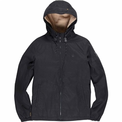 Element Alder Wax Jacket - Black