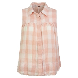 Free People Hey There Shirt - Pink