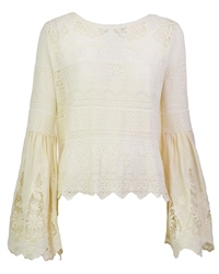Free People Once Upon Top - Ivory