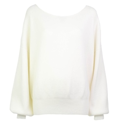 Free People Shadow Jumper - Ivory