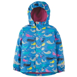Frugi Puddle Buster Jacket - Whale