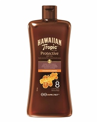 Hawaiian Tropic 100ml SPF 8 Tanning Oil - Assorted