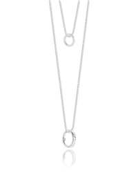 Joma Jewellery Good Karma Necklace - Silver
