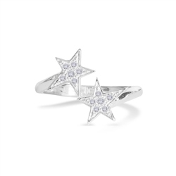 Joma Jewellery Seeing Stars Ring - Silver