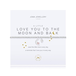 Joma Jewellery To Moon Bracelet - Silver