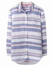 Joules Jeanne Print Shirt - Blue & Red