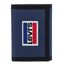 Levi's Patch Tri Wallet - Blue