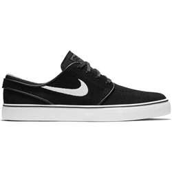 Nike SB Stefan Janoski Suede Shoes - Black & White