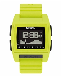 Nixon Base Tide Pro 1 Watch - Lime