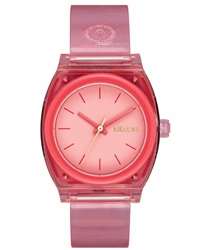 Nixon Med Time Teller P 2 Watch - Coral