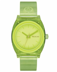 Nixon Med Time Teller P 2 Watch - Lime