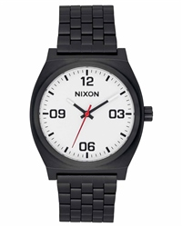 Nixon Time Teller Corp 2 Watch - Black & White
