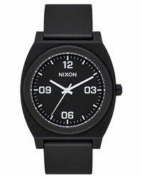 Nixon Time Teller P Corp 2 Watch - Black & White